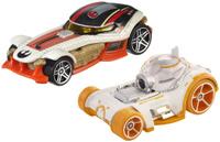 Купить Hot Wheels Star Wars Набор машинок BB-8 & Poe Dameron, Машинки