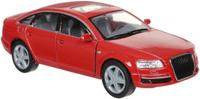 Купить Kinsmart Модель автомобиля Audi A6 цвет красный, Машинки