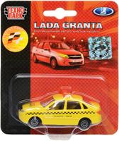 Купить ТехноПарк Автомобиль Lada Granta Городское такси, Машинки