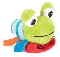 Купить Happy Snail Игрушка-погремушка на руку Лягушонок Квака, Первые игрушки