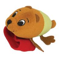 Купить Happy Snail Игрушка-погремушка на руку Медвежонок Берни, Первые игрушки