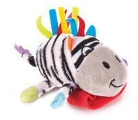 Купить Happy Snail Игрушка-погремушка на руку Зебра Фру-Фру, Первые игрушки
