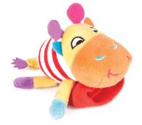 Купить Happy Snail Игрушка-погремушка на руку Жираф Спот, Первые игрушки
