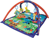 Купить Жирафики Развивающий коврик Домашние животные, Nantong Eurofield Art's Toys Co., Ltd, Развивающие коврики