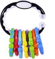 Купить Жирафики Развивающая игрушка 2 в 1 погремушка и колечки для подвесок, Shantou Gepai Plastic Industrial Co., Ltd, Развивающие игрушки