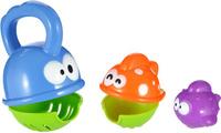 Купить Жирафики Развивающая игрушка-матрешка для купания Голодные рыбки, Shantou Gepai Plastic Industrial Co., Ltd, Развивающие игрушки
