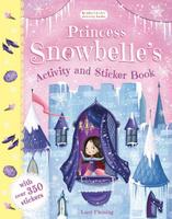 Купить Princess Snowbelle's Activity and Sticker Book, Книжки с наклейками