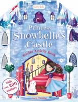 Купить Princess Snowbelle's Castle Sticker Activity Book, Книжки с наклейками