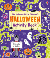 Купить Little children's Halloween activity book, Книга-игра