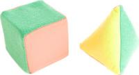 Купить Пластмастер Развивающая игрушка Кубик и пирамидка, Мягкие игрушки