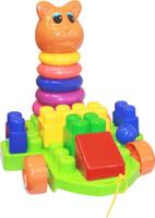 Купить Пластмастер Игрушка-каталка Кошкин дом, Первые игрушки
