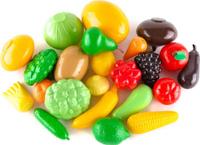 Купить Пластмастер Игровой набор Овощи фрукты большой, Сюжетно-ролевые игрушки