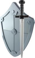Купить Пластмастер Игровой набор Рыцарь меч щит, Игрушечное оружие