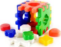 Купить Пластмастер Сортер Логический Куб, Развивающие игрушки