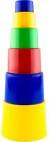 Купить Пластмастер Пирамидка Матрешка малая цвет в ассортименте, Развивающие игрушки