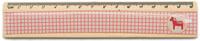 Купить Еж-стайл Линейка Лошадка цвет розовый клетка 20, 2 см, Чертежные принадлежности