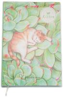 Купить Еж-стайл Тетрадь Kitten В зелени 44 листа в линейку, Тетради