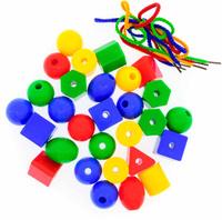 Купить Анданте Игра-шнуровка Геометрические формы 282762, Обучение и развитие