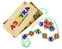 Купить Анданте Обучающая игра Набор-шнуровка Азбука, Обучение и развитие