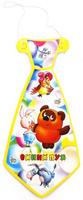 Купить Веселый праздник Набор галстуков Винни Пух 6 шт, Аксессуары для детского праздника