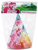 Купить Веселый праздник Набор колпаков My Little Pony 6 шт, Колпаки и шляпы