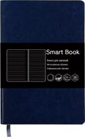 Купить Канц-Эксмо Записная книжка Smart Book в линейку 120 листов цвет синий формат А5-, Тетради
