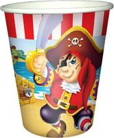 Купить Пати Бум Набор стаканов Веселый Пират 200 мл 6 шт, Сервировка праздничного стола