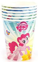 Купить Веселый праздник Набор стаканов My Little Pony 6 шт, Сервировка праздничного стола