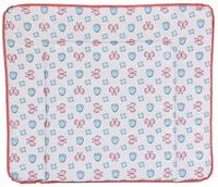 Купить Polini Доска пеленальная Бабочки 0001345-4, Позиционеры, матрасы для пеленания