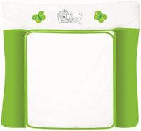 Купить Polini Доска пеленальная Зайки цвет зеленый 0001347-4, Позиционеры, матрасы для пеленания