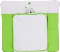 Купить Polini Доска пеленальная Зайки цвет зеленый 0001350-4, Позиционеры, матрасы для пеленания