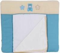 Купить Polini Доска пеленальная Плюшевые мишки цвет голубой 0001351-1, Позиционеры, матрасы для пеленания