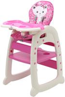Купить Polini Стульчик для кормления 460 цвет розовый, Стульчики для кормления