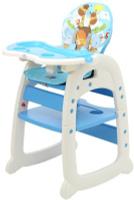 Купить Polini Стульчик для кормления 460 цвет синий, Стульчики для кормления