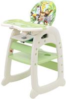 Купить Polini Стульчик для кормления 460 цвет зеленый, Стульчики для кормления