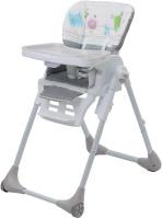 Купить Polini Стульчик для кормления Classic Монстрики цвет серый, Стульчики для кормления
