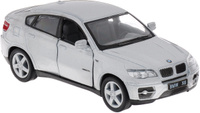 Купить Kinsmart Модель автомобиля BMW X6 цвет серый, Машинки