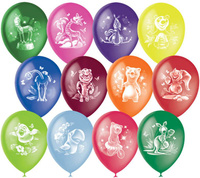 Купить Latex Occidental Набор воздушных шариков Пастель Декоратор Веселый зоопарк 10 шт, Воздушные шарики