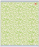 Купить Канц-Эксмо Тетрадь Изящные узоры 96 листов в клетку цвет салатовый, Тетради