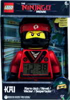 Купить LEGO NINJAGO Будильник детский Kai (2017), Clic Time, Часы