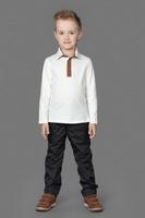 Купить Брюки для мальчика Ёмаё, цвет: черный. 41-913. Размер 98, Одежда для мальчиков