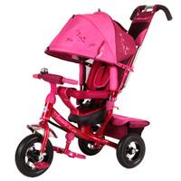 Купить Beauty Велосипед трехколесный цвет красный розовый BA2RP, Велосипеды-каталки