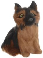 Купить Vebtoy Фигурка Немецкая овчарка цвет черный коричневый D572, Фигурки