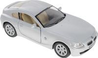 Купить Kinsmart Модель автомобиля BMW Z4 Coupe цвет серебристый, Машинки