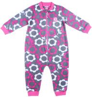 Купить Комбинезон для девочки Cherubino, цвет: розовый. CWB 9660. Размер 92, Одежда для девочек
