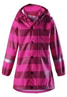 Купить Дождевик для девочки Reima, цвет: розовый. 5215064624. Размер 110, Одежда для девочек