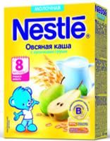 Купить Nestle Овсяная Груша каша молочная, 220 г, Детское питание