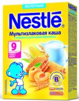 Купить Nestle мультизлаковая мед абрикос каша молочная, 220 г, Детское питание