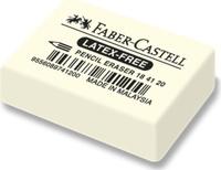 Купить Faber-Castell Ластик 7041 цвет белый 184120, Чертежные принадлежности