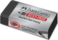 Купить Faber-Castell Ластик Dust-Free цвет черный, Чертежные принадлежности
